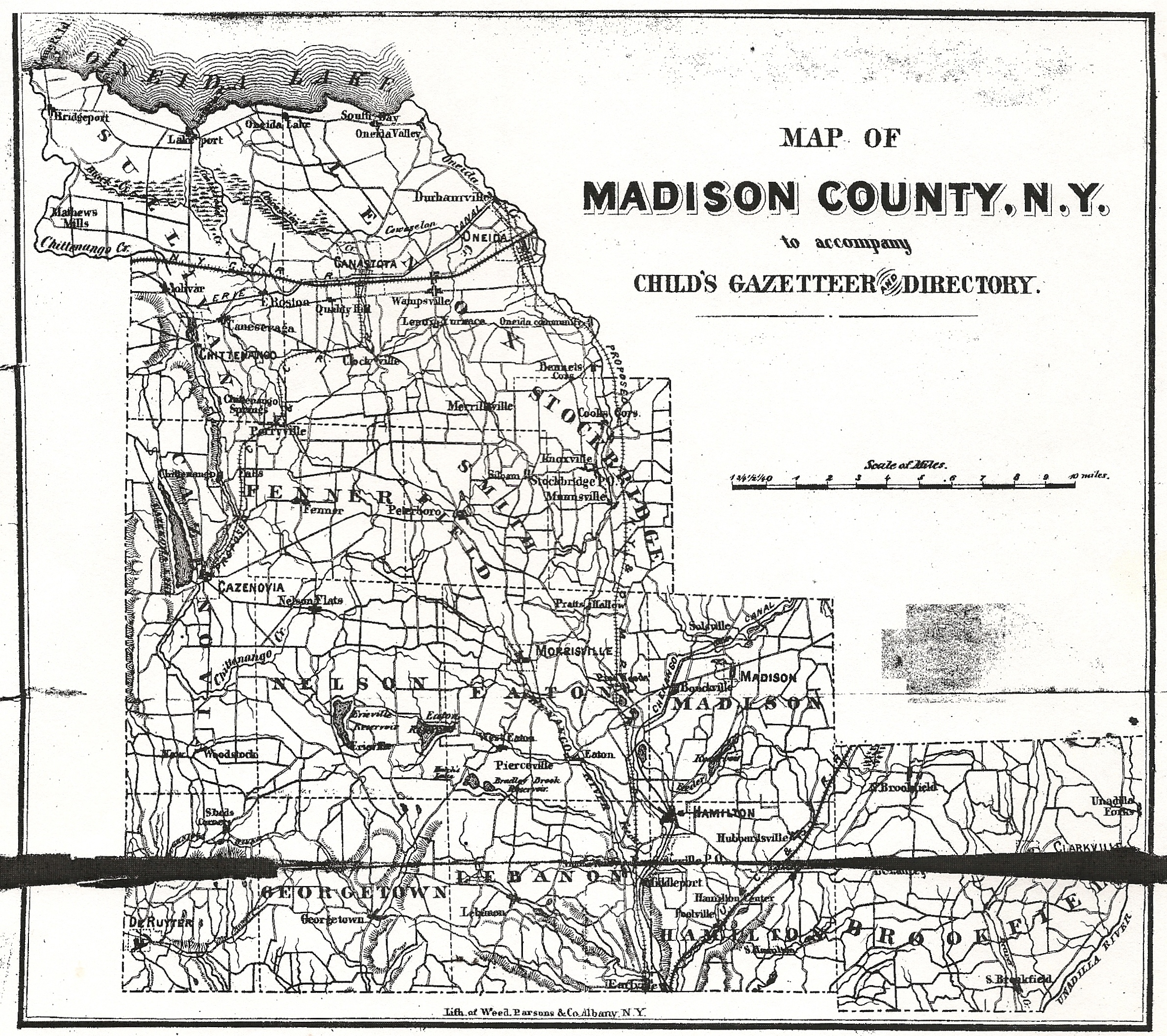 Maps of Madison County